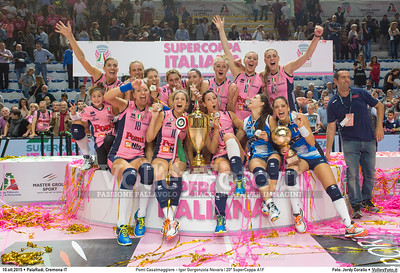 Pomì Casalmaggiore - Igor Gorgonzola Novara   Supercoppa 2015