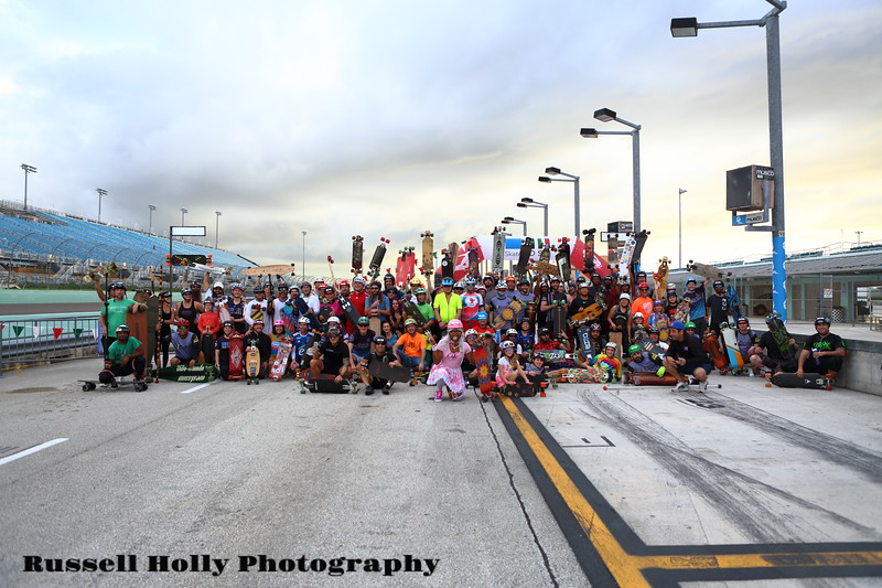 2020-01-17 Ultraskate Race Start Pic