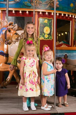 Children's Carousel Portraits 2013
