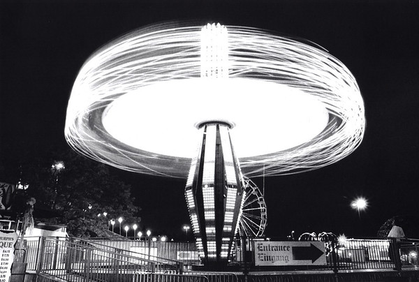 NIght Light Rides at the Puyallup Fair