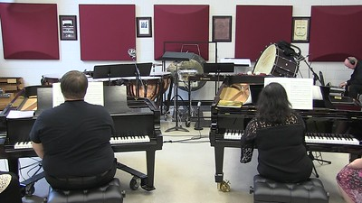 4 June 2017 Piano and Percussion