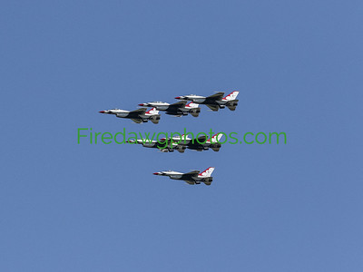 AMERICA STRONG MILITARY FLYOVER 04272020
