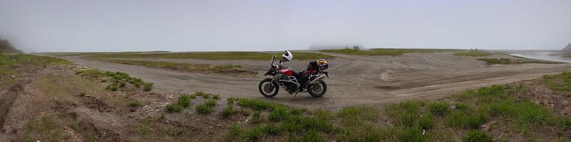 06-7, Gravel Riding, Martin Head, St Martins, Flat tire