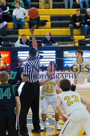 UA JV Basketball 2/15/13