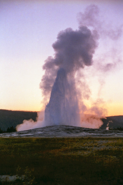 Images from a summer working in Yellowstone National Park.