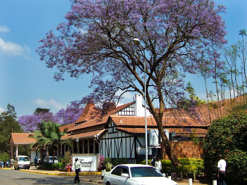 Fairmont Norfolk hotel in Nairobi, Kenya.  The original Norfolk hotel opened in 1904.