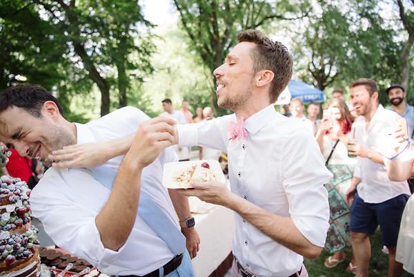Rodrigo & Nick's Conservatory Garden Wedding