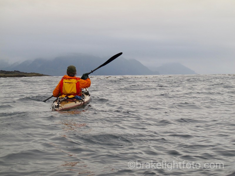 Heading into Rennell Sound