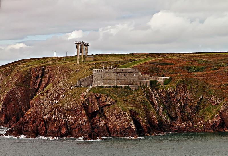 West Blockhouse Fort, Pembrokeshire, Wales