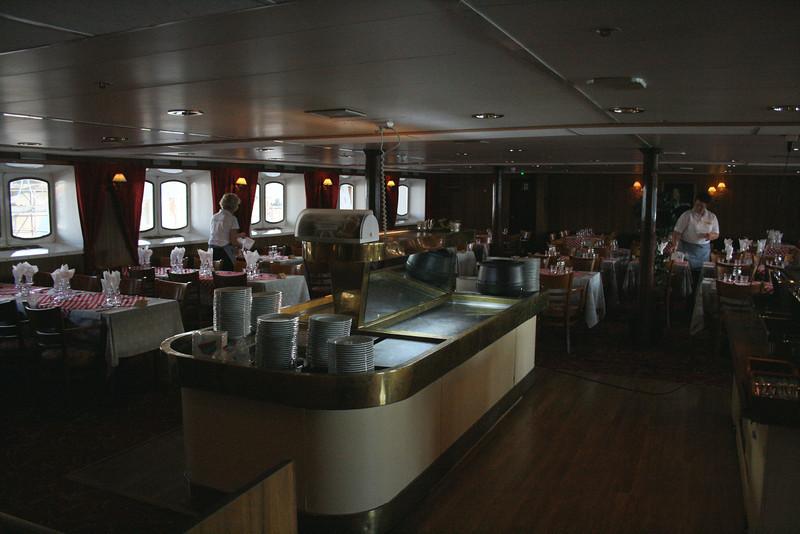 2009 - On board S/S KRISTINA REGINA : restaurant Kristina, deck 4.
