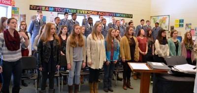 FUMA Choir with St. Gertrudes