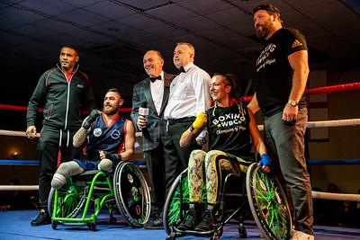 Mixed Wheelchair Demonstration - 28th Nov 2019