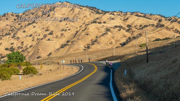 Day 2 California Dream Ride Winters to Calistoga