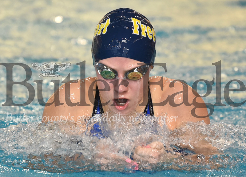 WPIAL AA Swimming Championships at University of Pittsburgh Trees Pool
