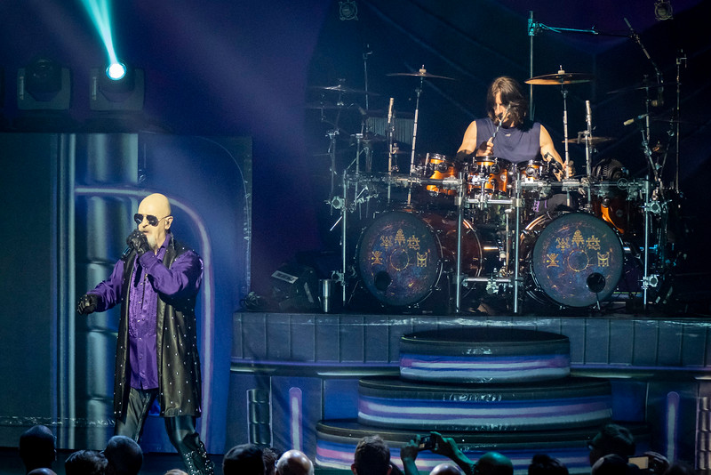 Judas Priest and Uriah Heep, lighting it up at the Rosemont Theatre on May 25th