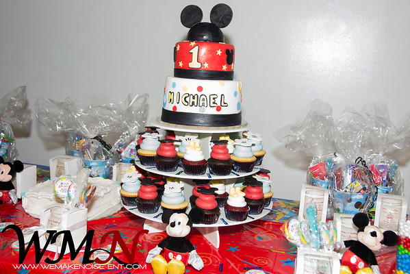 Michael 1st Birthday 1-19-14