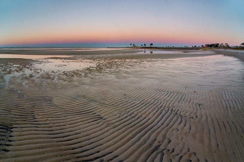 Beach at Sunrise in Port St. Joe
