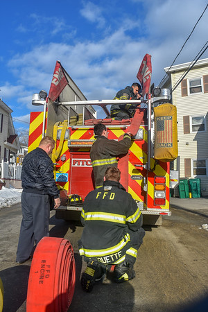 Structure Fire - Cross St., Fitchburg, Ma - 3/3/19
