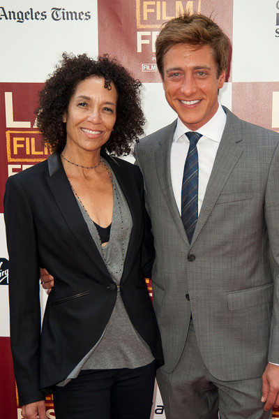 LOS ANGELES, CA: Director, Los Angeles Film Festival, Stephanie Allain and Co-President of Film Independent Sean McManus arrive at the 2012 Los Angeles Film Festival Gala Screening of 'Beasts Of The Southern Wild' at Regal Cinemas L.A. LIVE Stadium 14 on June 15, 2012 in Los Angeles, California. (Photo by Tom Sorensen/Moovieboy Pictures)