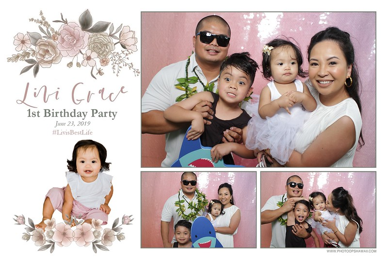 Livi's 1st Birthday (Fusion Photo Booth)