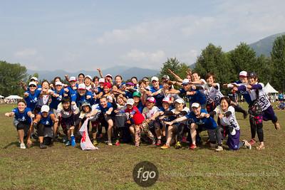 8-7-14 USA Godiva v Japan Sanz Mixed Division Thursday Matchup at WFDF 2014 World Ultimate Club Championships