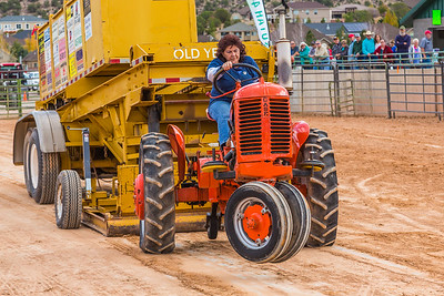 Tractor Pull and Sheep Parade in Cedar City - 2016