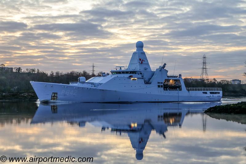 HNLMS FRIESLAND P842 Royal Dutch Navy