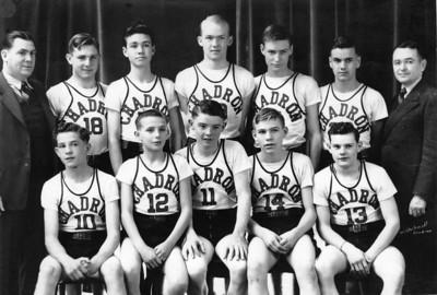 Chadron High basketball players of 1941