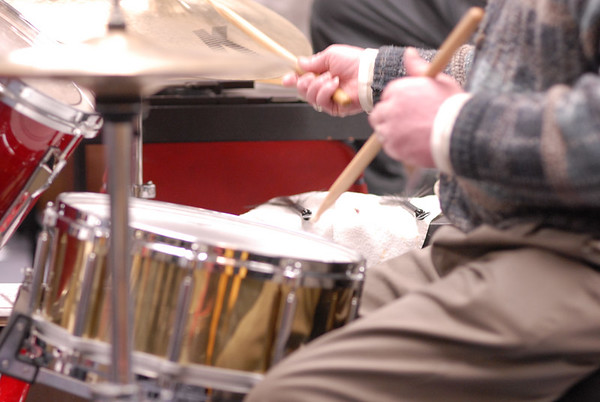 CIVIC SYMPHONY ORCHESTRA  rehearsal   1.29.07