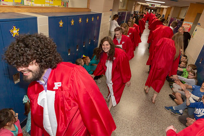 High School - 5/8/2019 Graduation Walk at Daisy Brook
