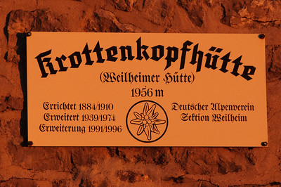 Estergebirge (3.-4. 10. 2014)