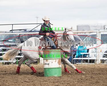 Irvine Rodeo 2015 Barrel Racing Slack