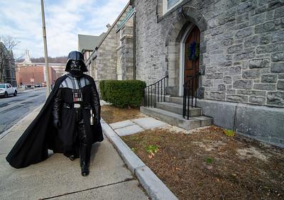Darth Vader at Christ Church
