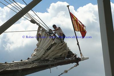 Juan Sebastian De El Cano Tall Ship