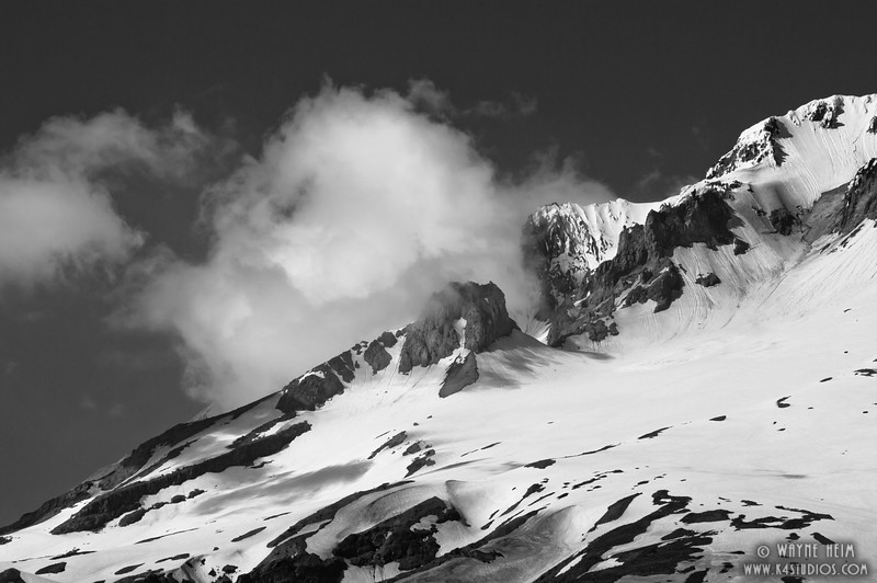 Head in Clouds  -  Black & White Photography by Wayne Heim