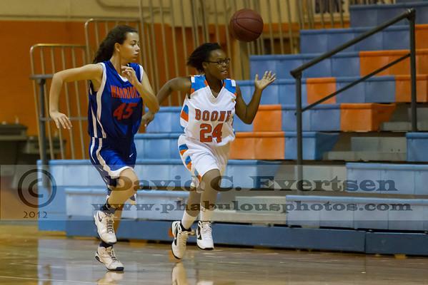 Girls JV Basketball - 2012