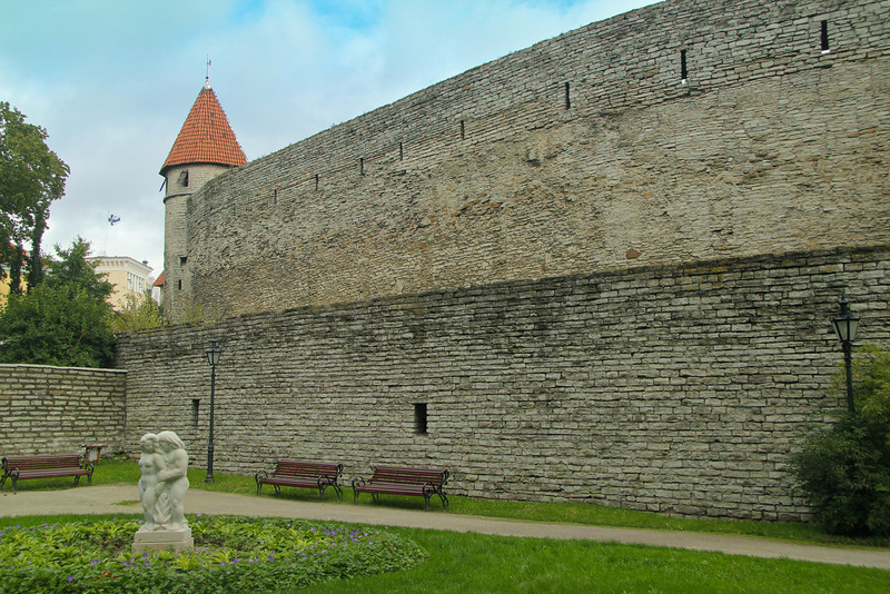 Old Town Wall -Tallinn, Estonia