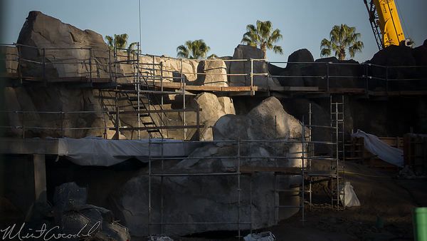 Disneyland Resort, Disneyland, Frontierland, Critter Country, Star Wars Land, Construction, Rivers, River, Rivers Of America, America