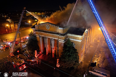 Vacant Church Fire - 748 S Floyd St, Louisville, KY - 3/13/21