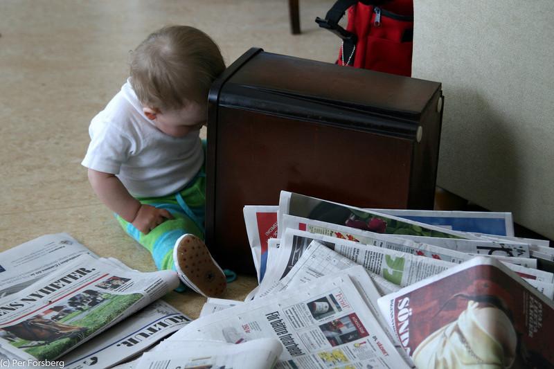 ..Jaha, nu var tidningarna tydligen slut...