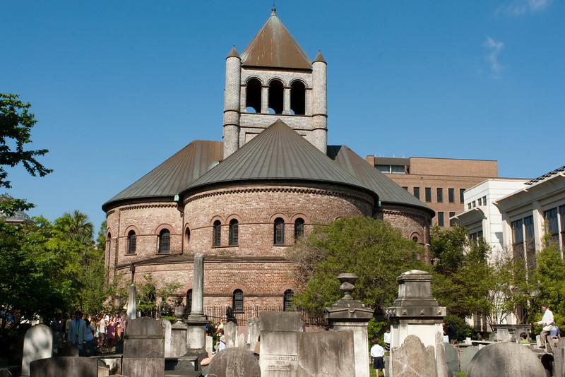 Circular Congregational Church in Charleston, SC.