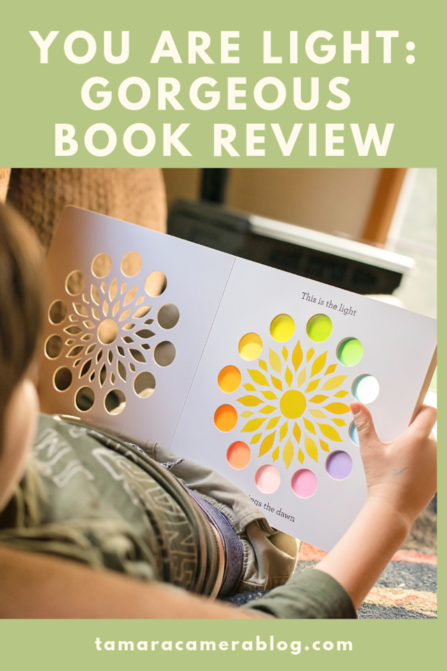 My favorite kind of book reviews are the books that take our breath away. You Are Light is a gorgeous board book suitable for 3-8, and really, all ages. #ad
