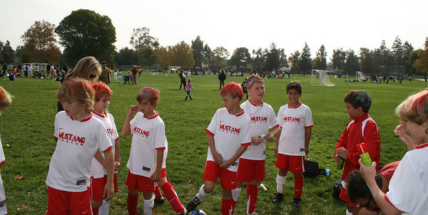 Gabriel's Soccer Comets 2007