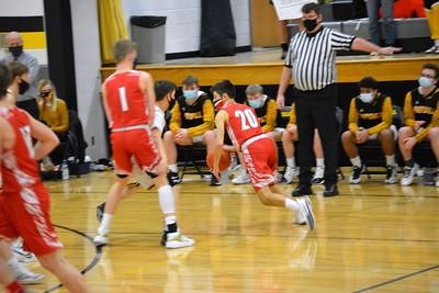 Highland @ Royall Boys Basketball 2-20-21