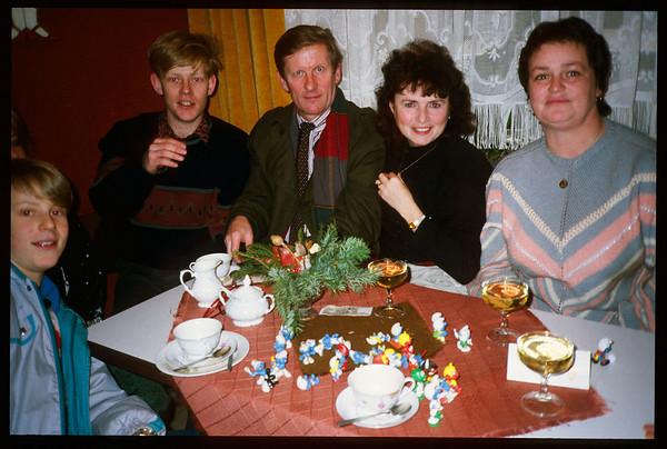 1989 Erfurt am 28.12. - Vergleichsbilder aus 1975