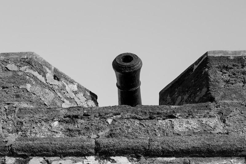 Castillo de San Marcos Entry Canon