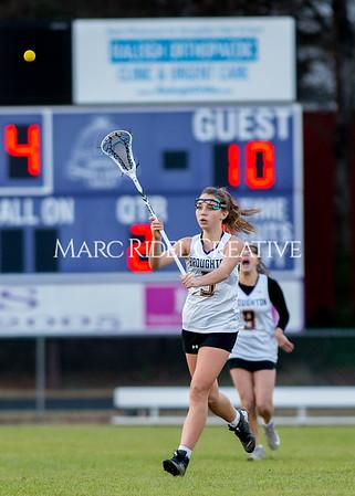 Broughton girls varsity lacrosse vs Middle Creek. February 28, 2020. D4S_0565