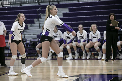 HS Sports - Woodhaven vs. Trenton Volleyball Playoff 19