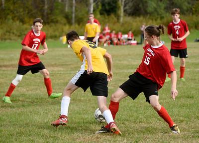 Twinfield vs Mid Vermont Christian boys soccer