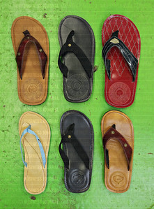 "Afghanistan inspired Combat Flipflops are made in the Issaquah, Wash. garage workshop of former U.S Army Ranger Captain Matthew ""Griff"" Griffin"